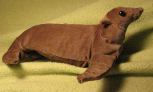 Sea Lion Plush Toy by Jarahamee