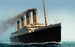 Titanic (Completed) by TwoStripTechnicolor