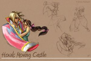 Howl's Moving Castle by jbsdesigns