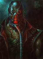Kabal (Mortal Kombat) by AlexCarroty