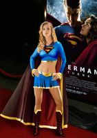 Supergirl - Movie Premier by jmperkins