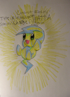 Contest Entry: Fakemon Watta by Nijihamu-can
