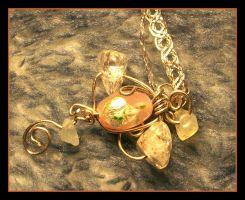 Vaguely Cross Shaped Pendant by balthasarcraft
