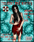 Resident Evil Monthly: Alma Wade Cover Page by EpitaphOfTwilightCe