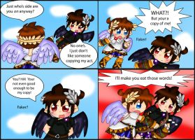 Kid Icarus Uprising: Copycat by purplemagechan