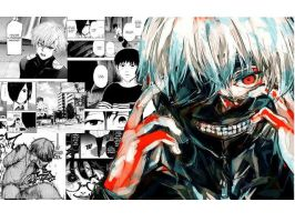 Tokyo Ghoul Wallpaper by ValeMS25