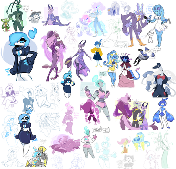 Drawpile Doodles by Vongulli