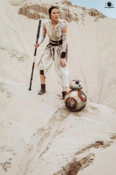 Rey Star Wars Cosplay by arijana1988