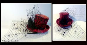 hats- red leopard by megoboom