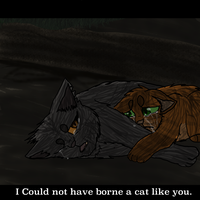 Yellowfang's Death by Lithefeather