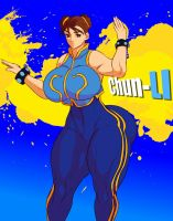 Chun-Li - Street Fighter by Jay-Marvel