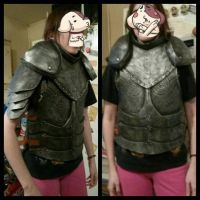 WIP: Armor Test Fit by BlueWolfCheetah