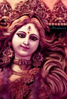 Goddess Durga by bhaskar655