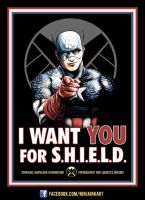 Cap Wants YOU by ninjaink