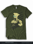 Guile t-shirt for EigthySixed Cloth by jaimito
