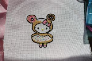 Hello Kitty x Tokidoki by SweetNerdyCakes