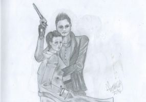 Dean and Cas, younger version by Willwarine