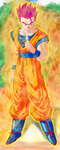 Dragon Ball Z: Son Gohan God Mode by NarutoRenegado01