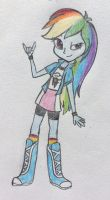 EG Rainbow Dash by mashaheart
