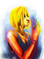 Forget me not by psychoZeka