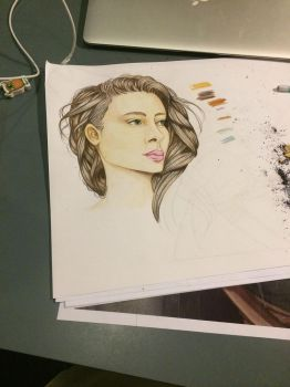 Project colour pencils by iOptimusPrime