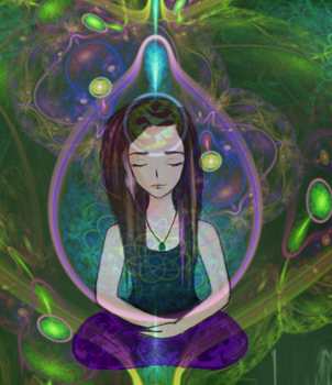 Mahili's Meditation by Psychedelic-Zonster