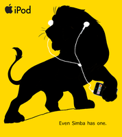 Adult Simba - iPod Parody 2 by JellyPaws