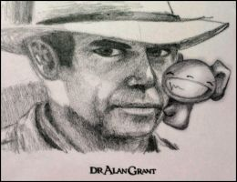 Dr Grant with Bankio by skinniouschinnious