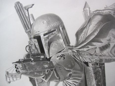 Boba Fett final by corysmithart