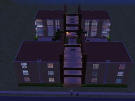 sims 2 apartment n. 3 p. 1 by PeaceInfinityStars