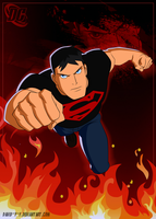 Superboy [DC comics] by David-Y-F