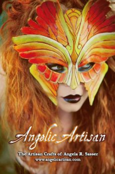 Fire Seraphim Mask 2 (Featuring Girltripped) by Angelic-Artisan