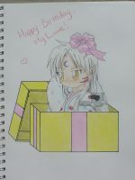 Happy Birthday My Love by sapphiresky1410