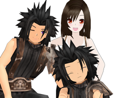 ZAck and Tifa Download by Pucaroo16