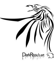 Dark raven by Dinfreal