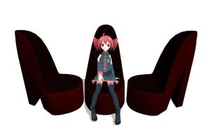 Shoe Chair DL by Pokeluver223
