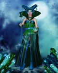 The Emerald Queen by RavenMoonDesigns