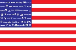 Corporate American Flag by triplex1121
