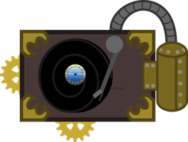 Steampunk Turntable Cutie Mark by 0Nautile18E26