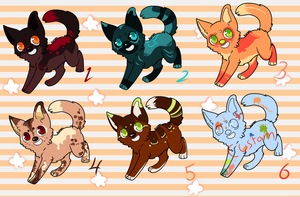 Canine Adoptables Auction {CLOSED} by snowpups123