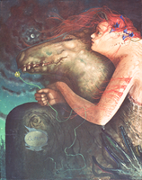 Bottom and Titania by kolaboy