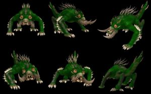 Spore Creation: Weagaulis by Existent-effigy