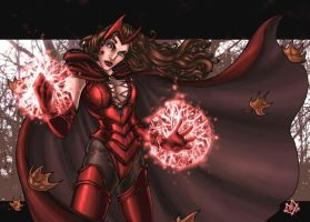 Scarlet Witch September by ComfortLove