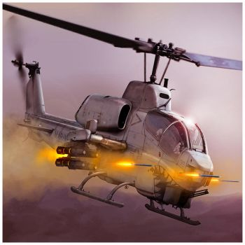 AH-1W Supercobra by dugazm