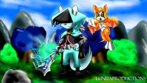 Dust An elysian tail by lunitaproductions