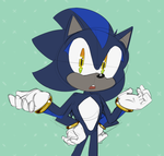 Sonic and Shadow fusion! by Metal-Harbor