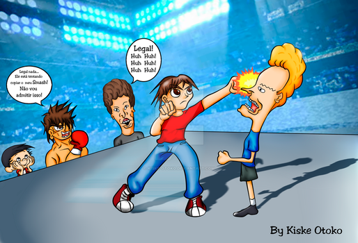 Zack-Hit-Beavis By KiskeOtoko by kiske-otoko