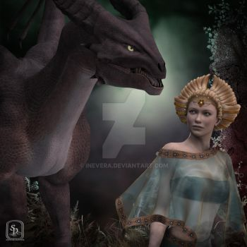 Elb and Dragon by Inevera