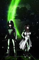 .:Futuristic Lovers:. by rikulee