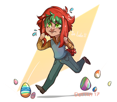 eASTER LATE by Dottea